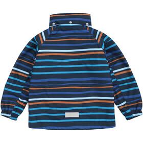 Reima Hopom Reimatec Overall Peuters, navy/orange stripes